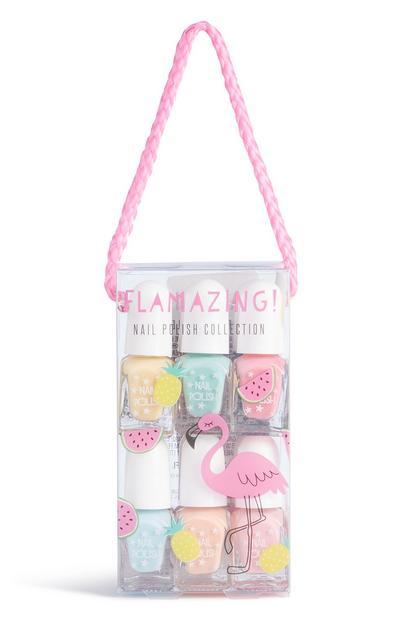 Flamingo 12Pk Nail Polish Set