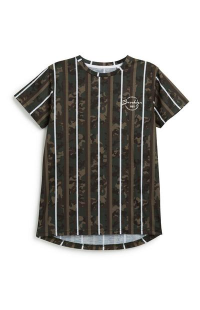 T-Shirt in Tarnfarben (Teeny Boys)