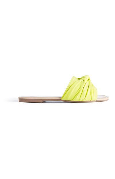 Yellow Knot Mule