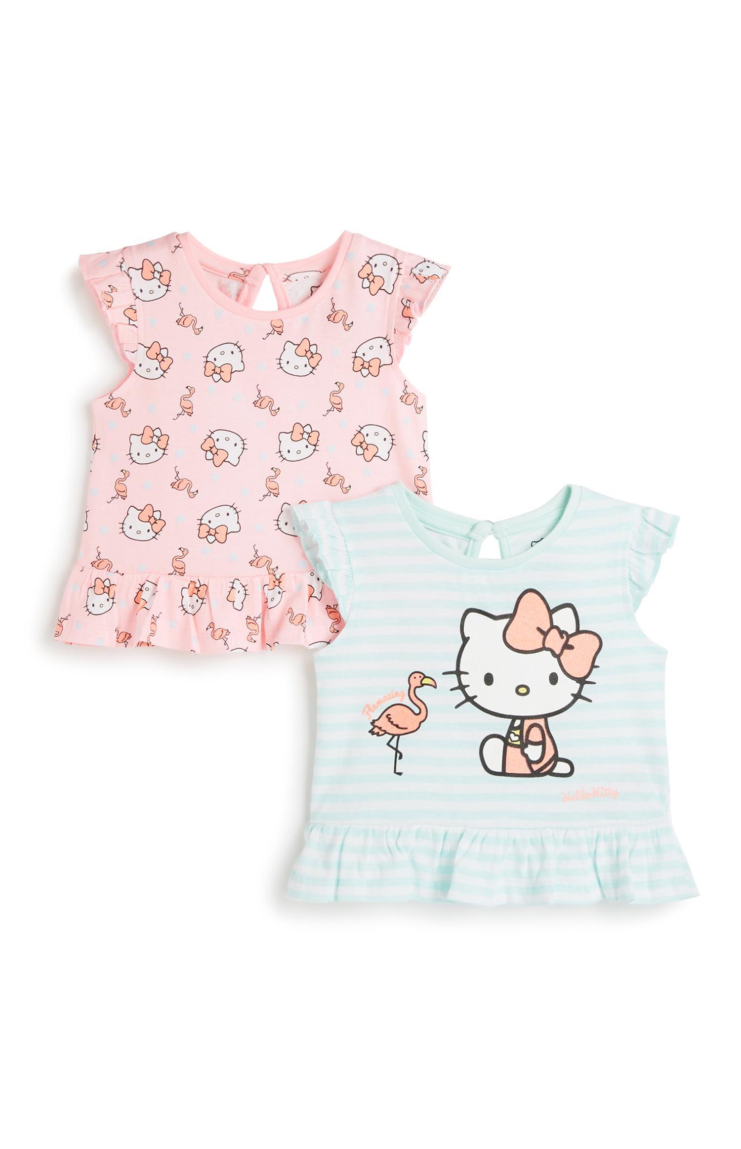 6d4b3e465 Baby Girl Hello Kitty T-Shirt 2Pk   Baby Girl   Kids   Categories ...