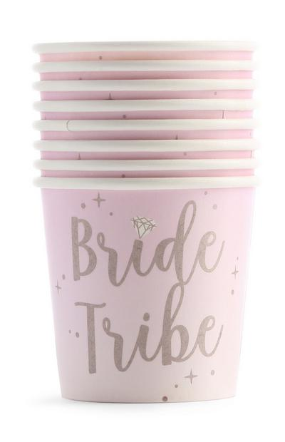 Pink Hen PArty Shot Cup 8Pk