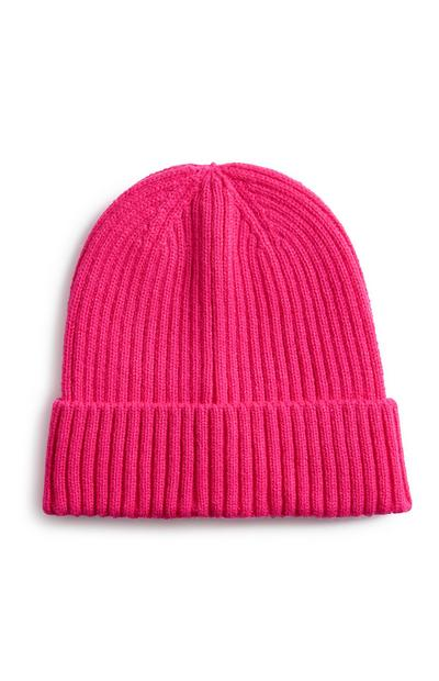 Neon Pink Beanie