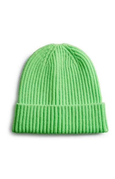 Neon Green Beanie