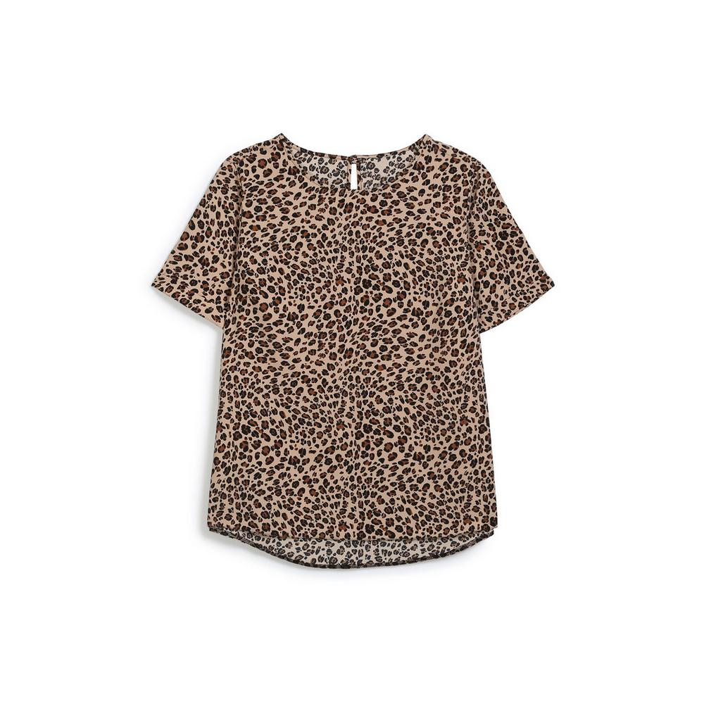 5d20f5702c2fd5 Leopard Print Top | Shirts | Tops | Womens | Categories | Primark ...