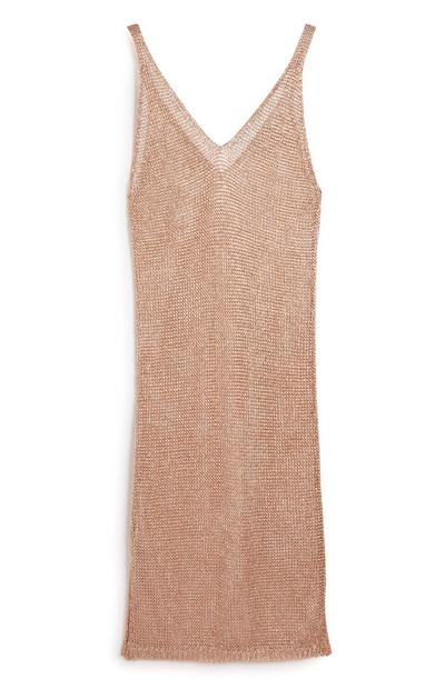 Copper Knitted Dress