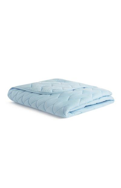 Baby Blue Kids Jersey Quilted Throw