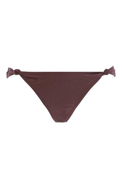 Dark Brown Bikini Brief
