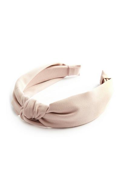 Blush Knot Headband