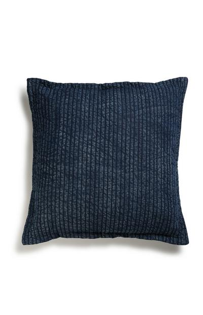 Navy Texture Cushion