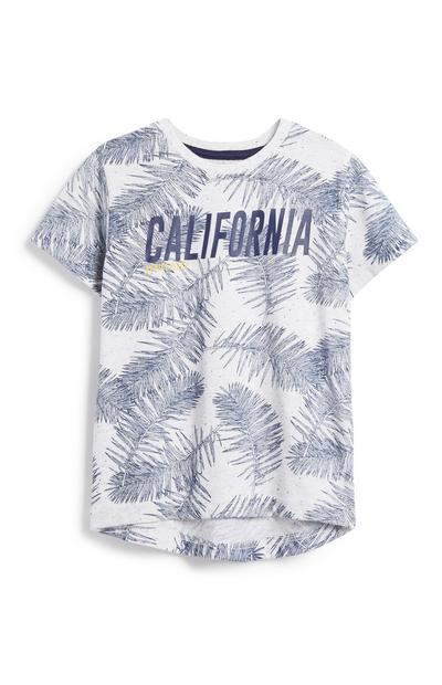 Younger Boy California Print T-Shirt