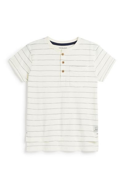Younger Boy Stripe T-Shirt