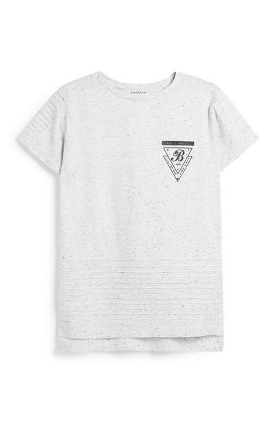 Older Boy Texture T-Shirt