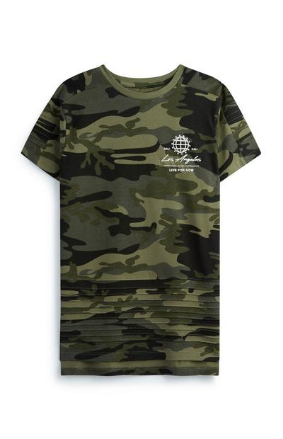 Older Boy Camo T-Shirt