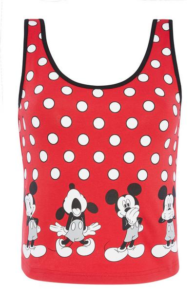 Mickey Mouse Crop Vest