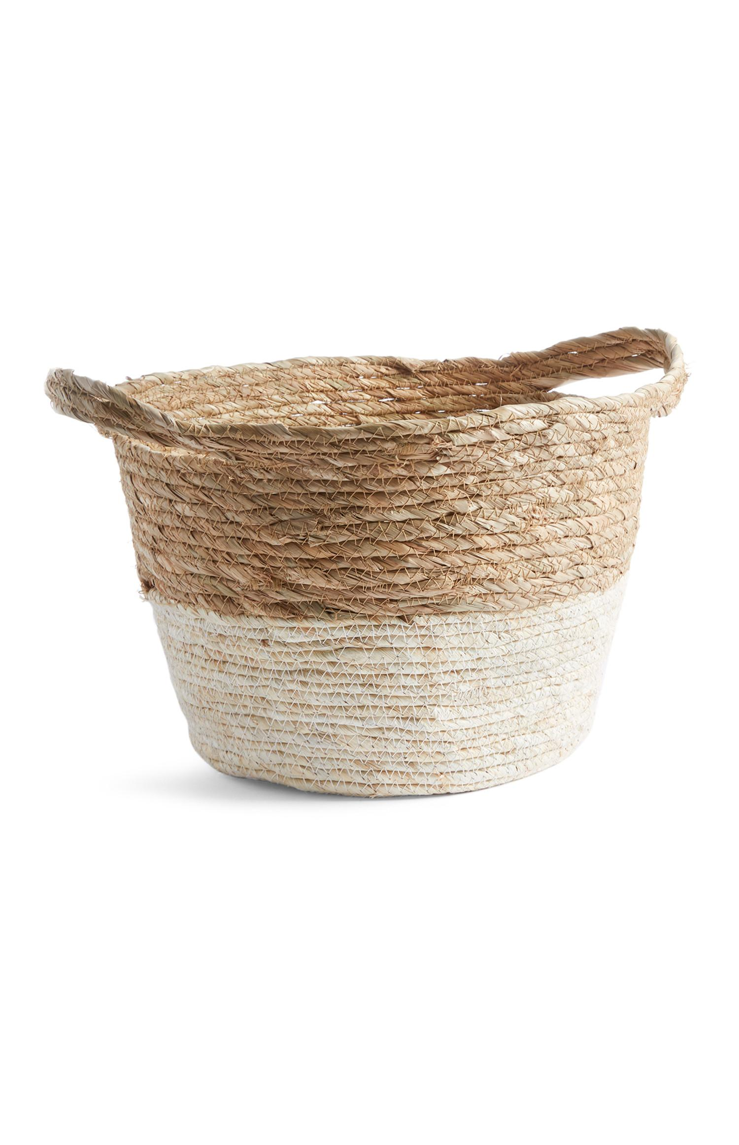 Natural Round Basket