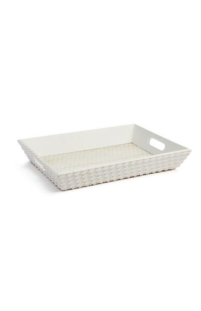 White Wooden Tray