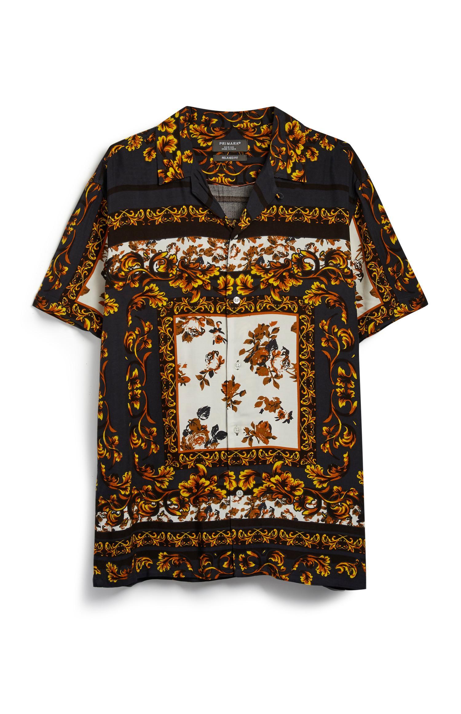 Baroque Pattern Shirt