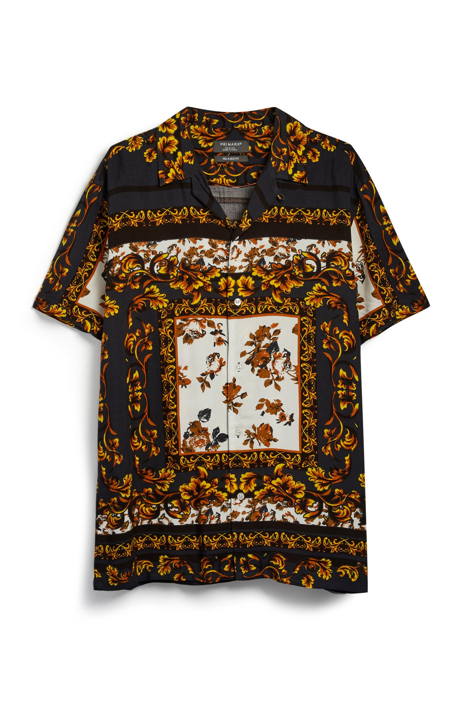 Baroque Pattern Shirt