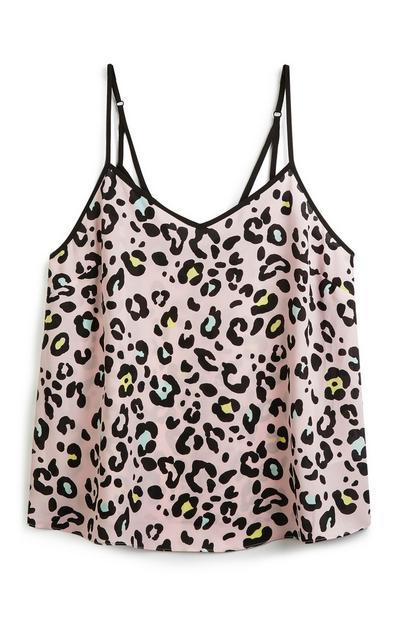 Leopard Print Cami Top