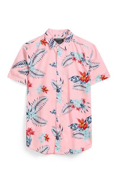 Pink Floral Shirt