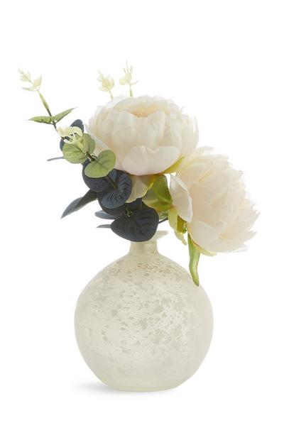 Frosted Globe Faux Flower