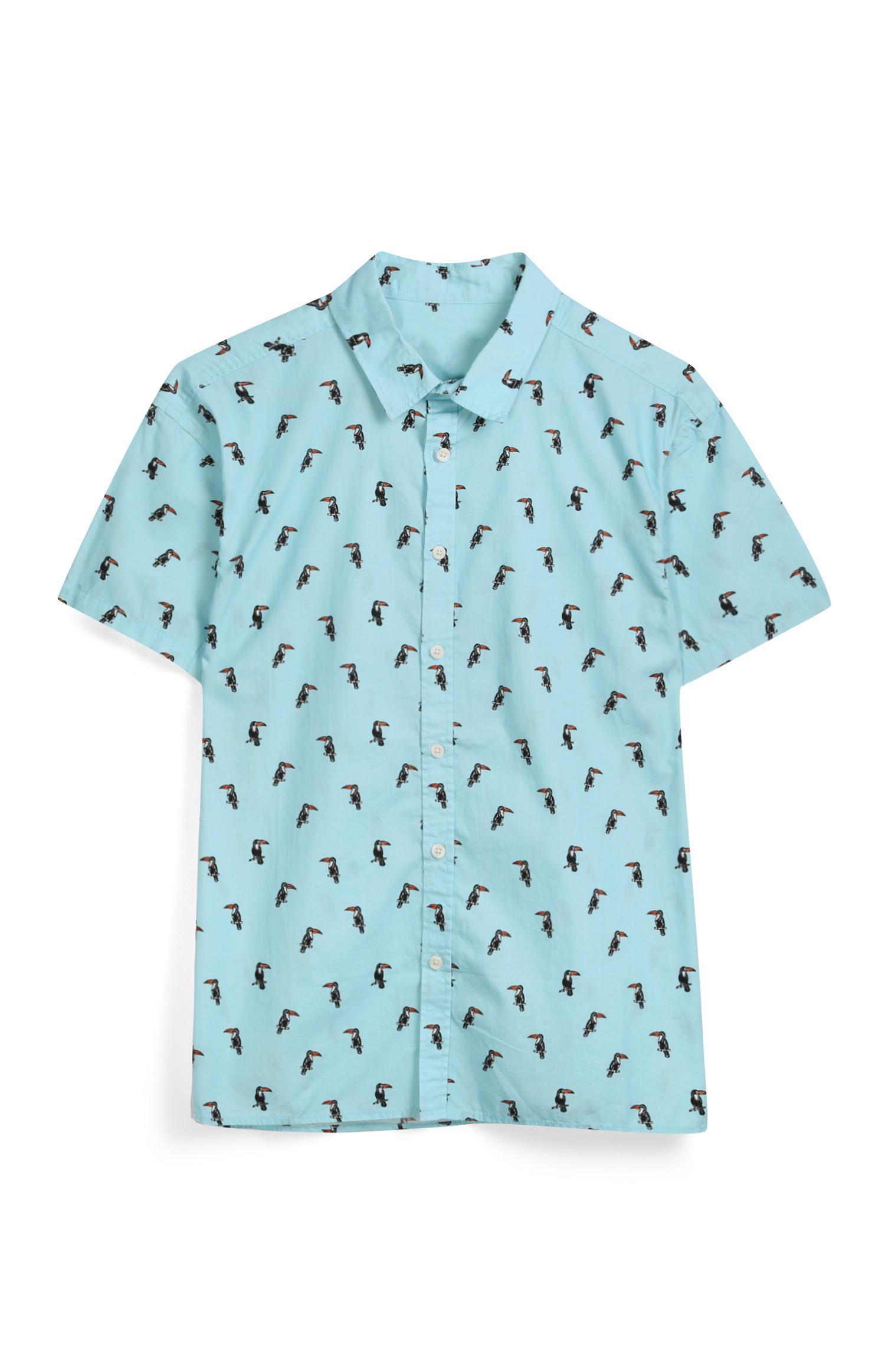 Blue Toucan Shirt