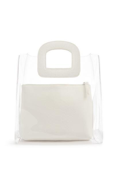 Transparent White Bag
