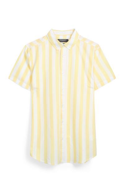 Yellow Stripe Shirt