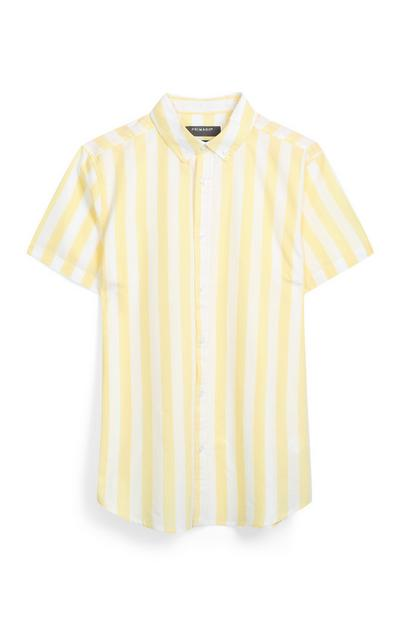 Yellow Stripe Shirt