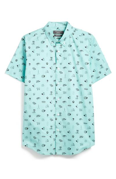 Blue Doddle Shirt