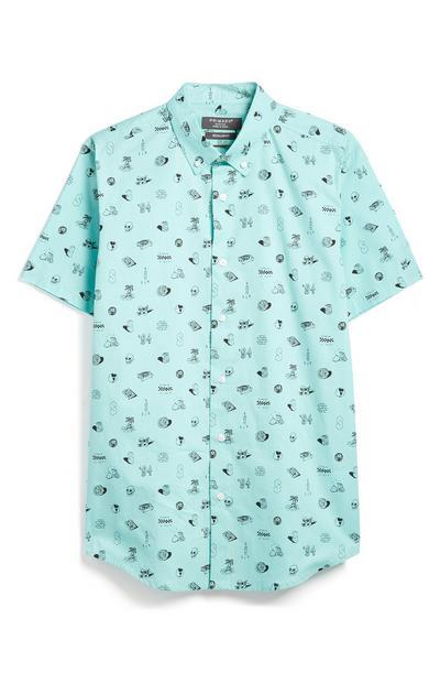 Blue Doddle Shirt