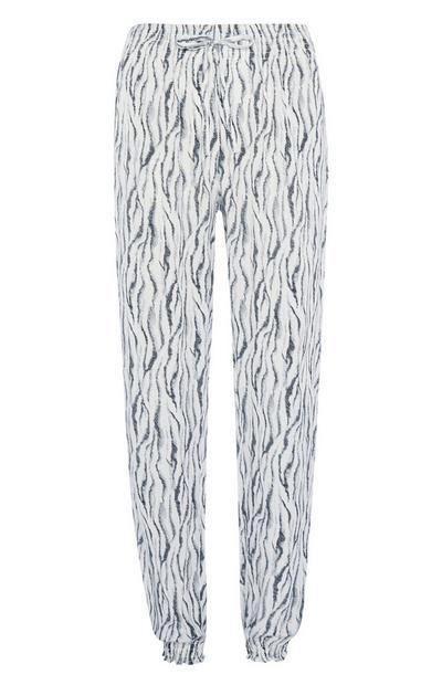 Zebra Print Pyjama Trouser