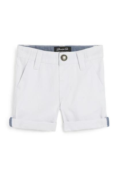 Baby Boy White Short
