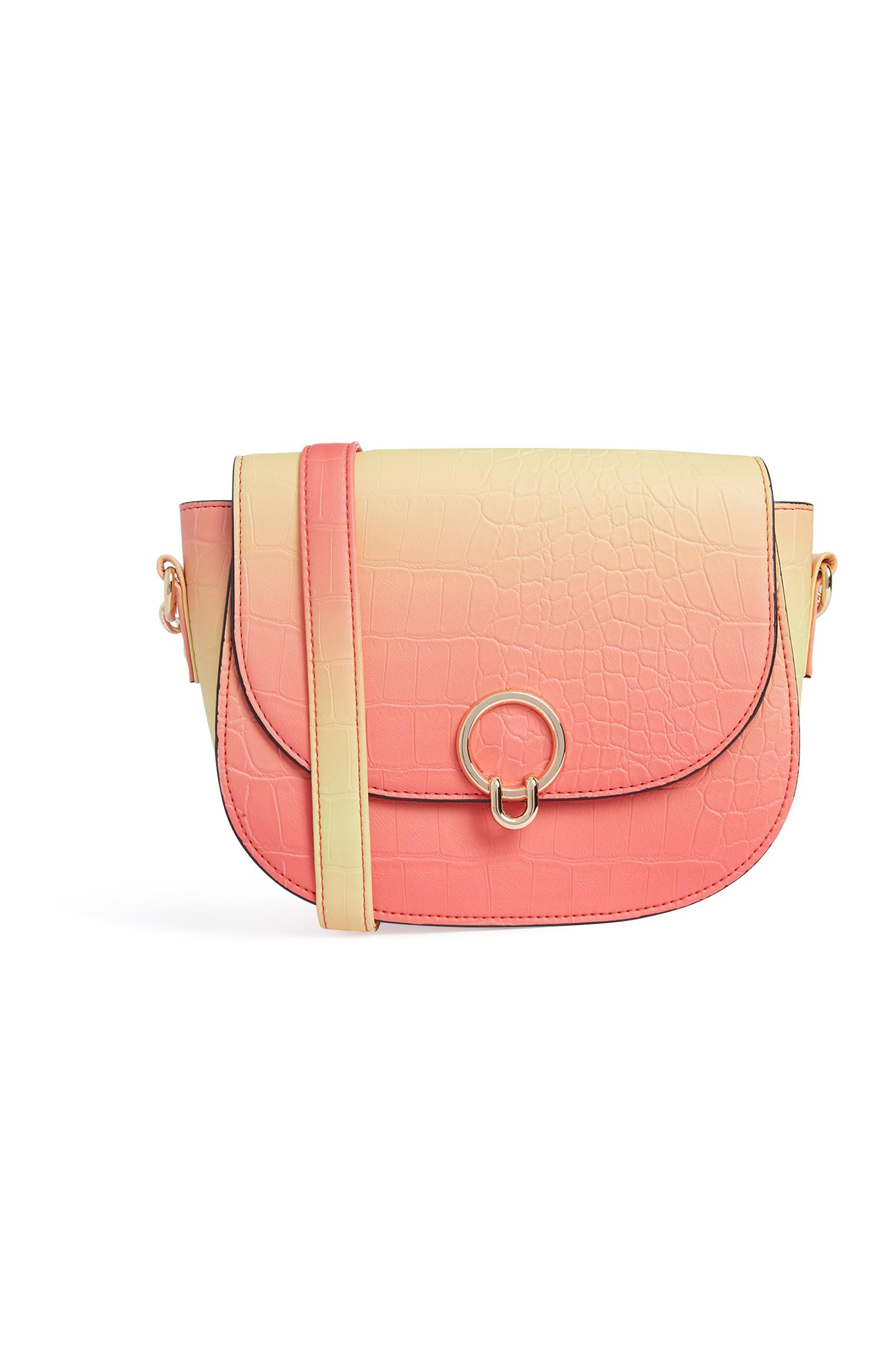 Blush Saddle Bag
