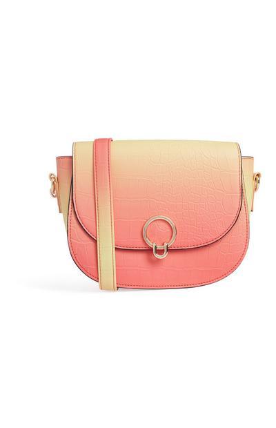 Blush Saddle Bag