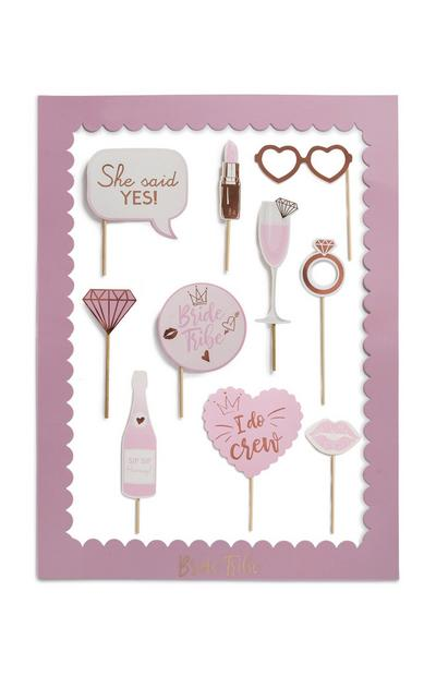 Pink Hen Party Props