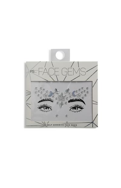 Silver Face Gems