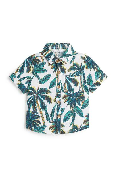 Baby Boy Palm Print Shirt