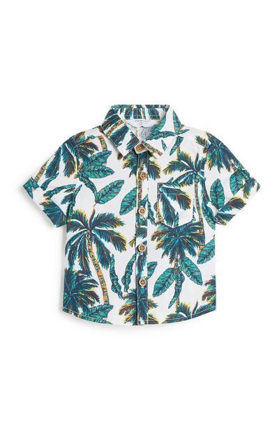 Baby Boy Palm Print Shirt