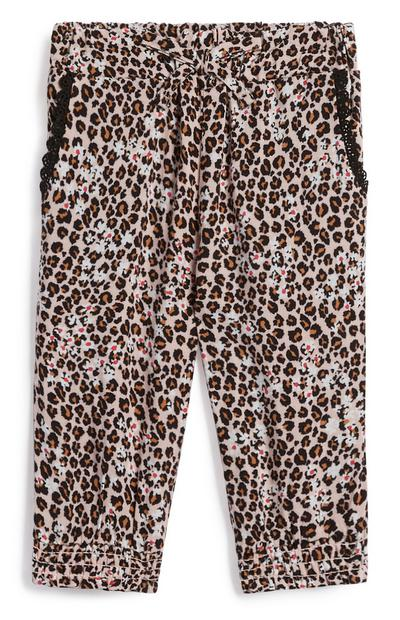 Baby Girl Leopard Trousers
