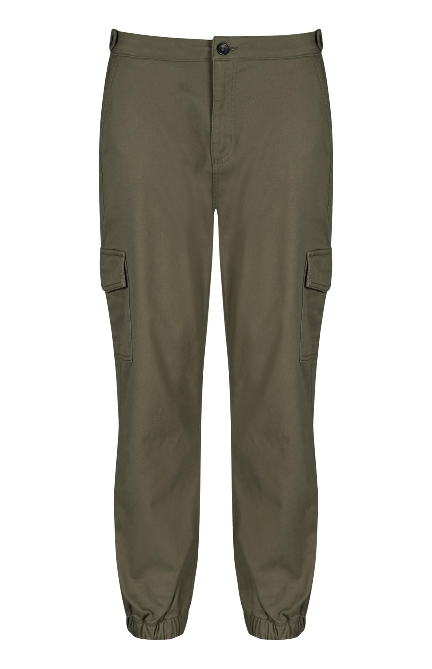 Khaki Cargo Trouser