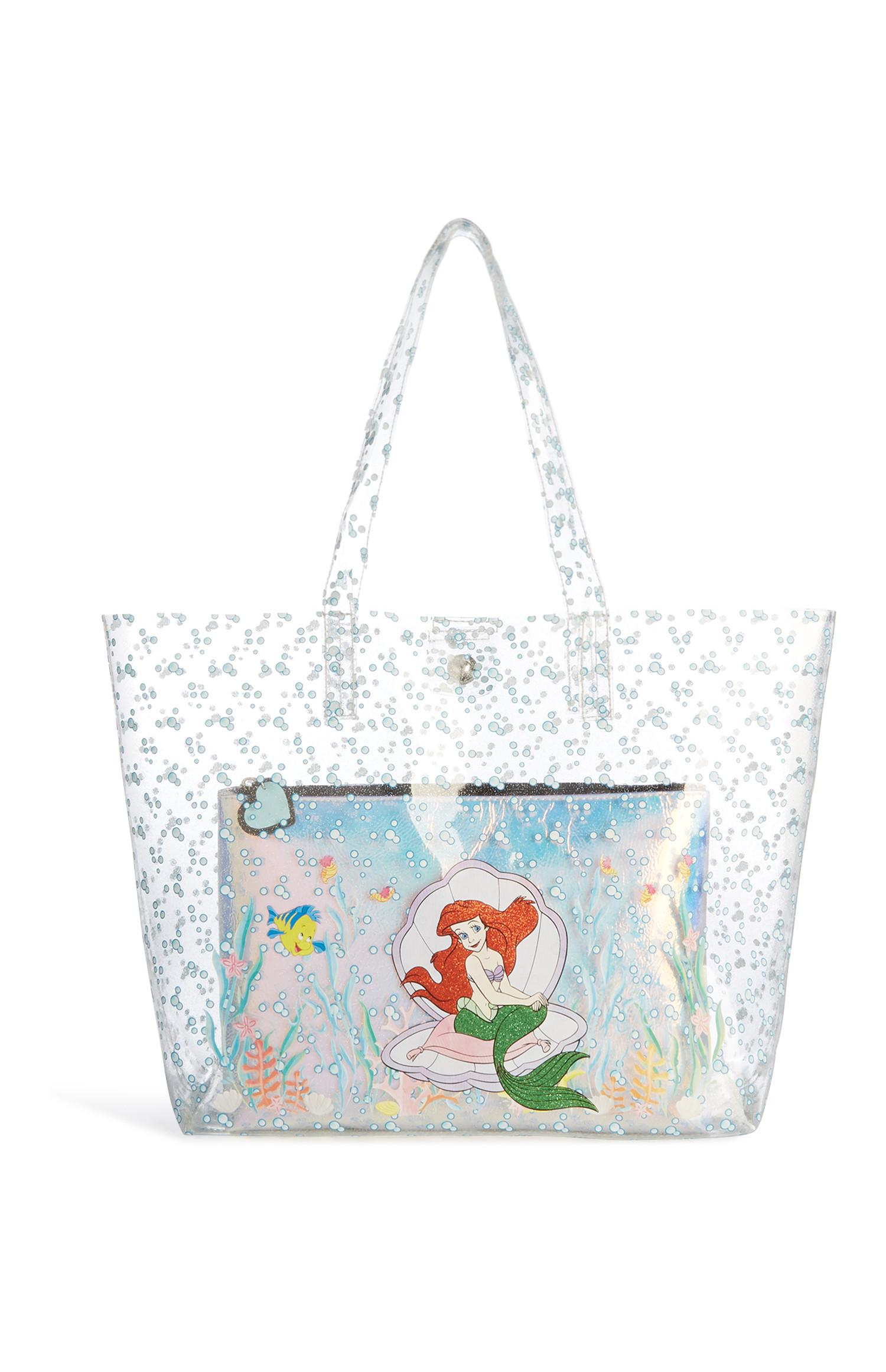 Little Mermaid Clear Bag