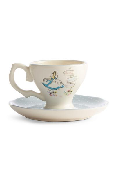 Alice In Wonderland Trinklet Tray