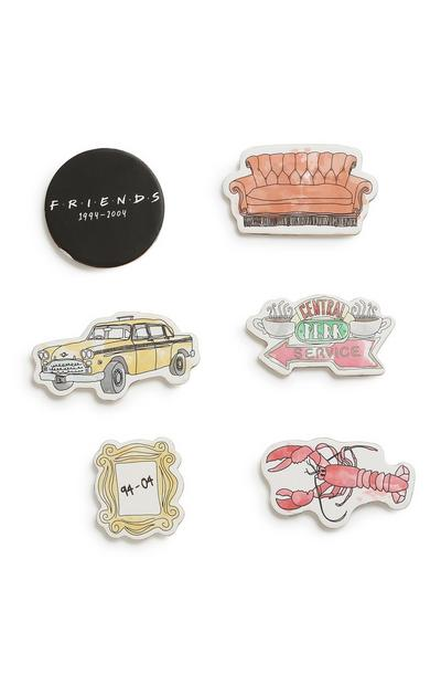 Friends Magnet 6Pk