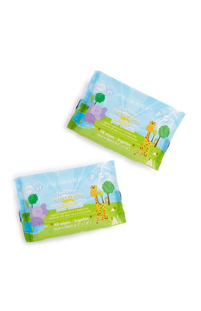 Twin Pack Toilet Wipes