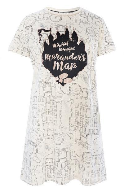 Harry Potter Map Night Shirt