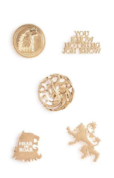 Game Of Thrones Badges