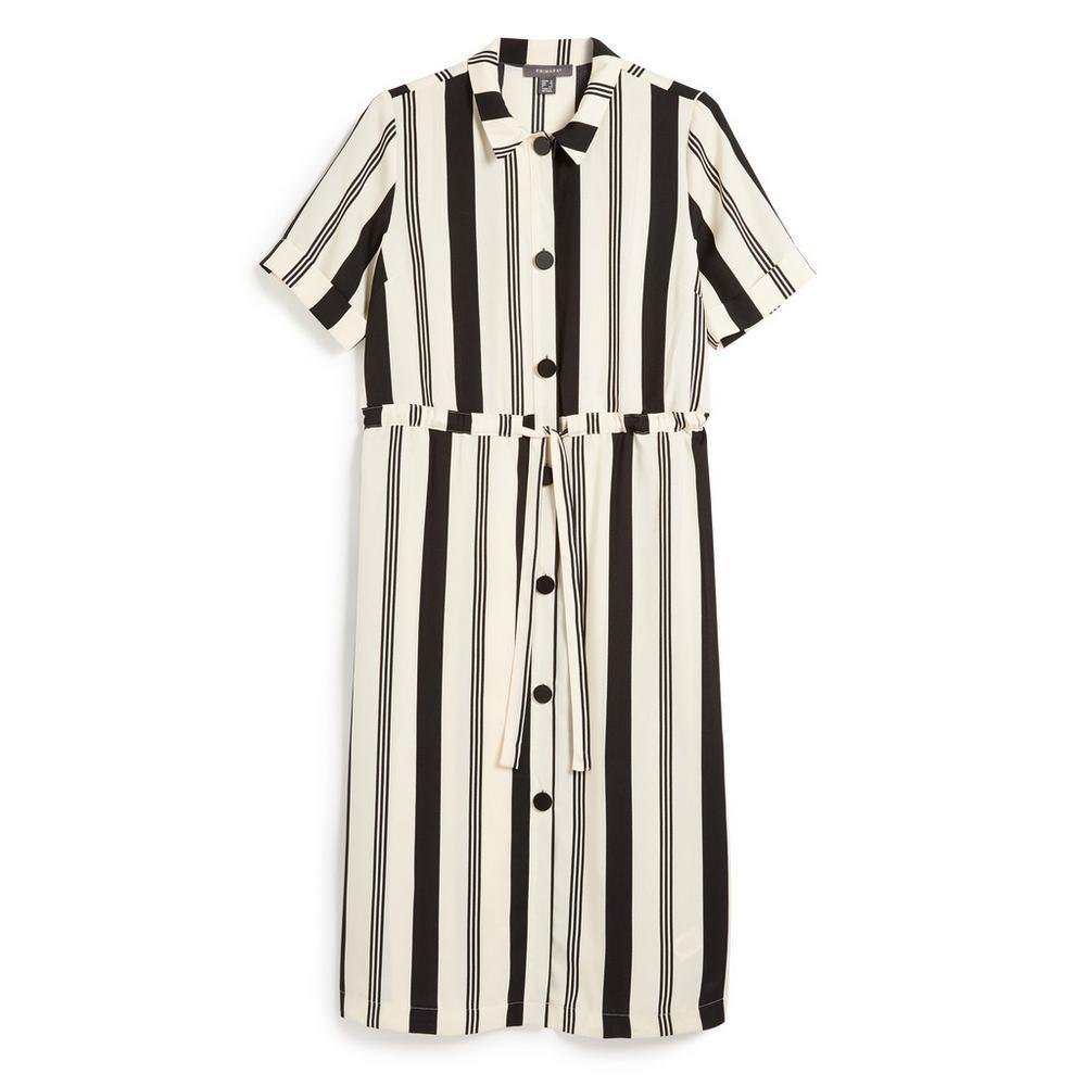 f6fe302812a397 Stripe Utility Shirt Dress | Dresses | Womens | Categories | Primark ...