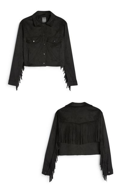 Black Tassel Jacket