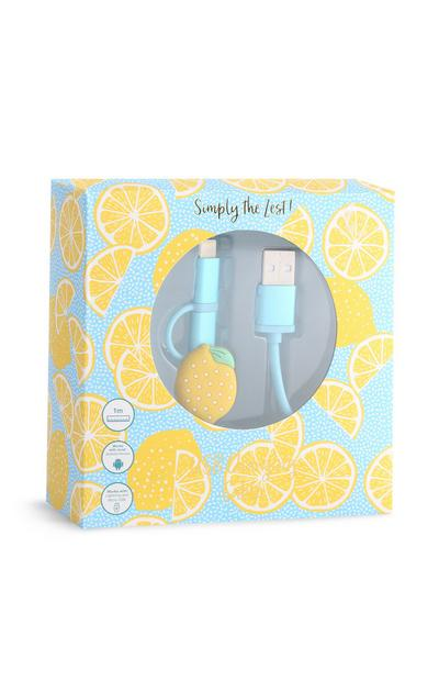 Lemon Charging Cable